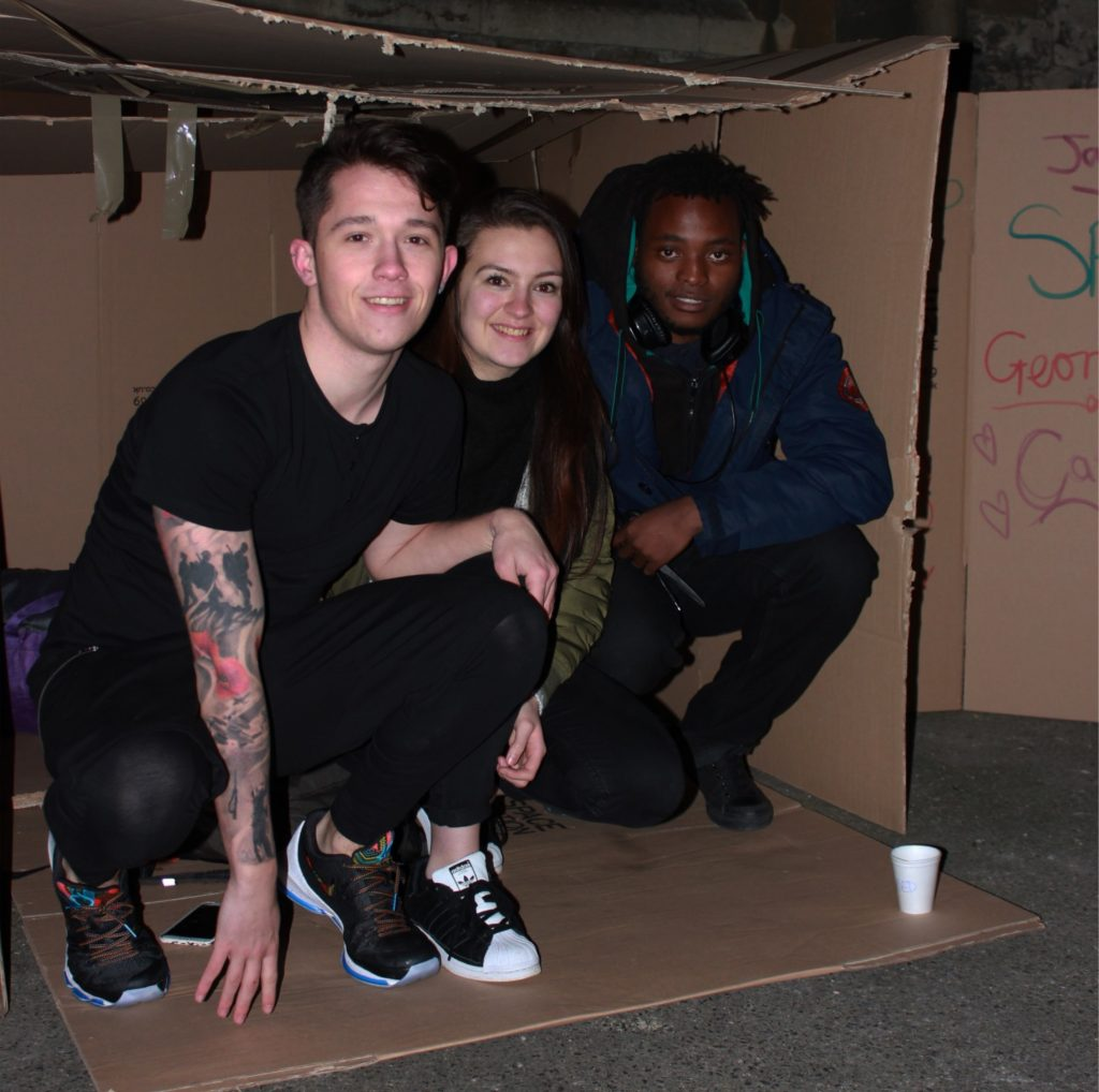 Sleep Out box