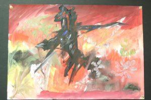 artwork 1 300x200 - Residents at YMCA Surbiton showcase their art to the public