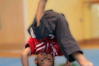 boy headstand 343x229 - YMCA Walthamstow