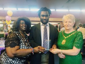 IMG 8963 300x225 - Our Inclusive Lives team win Silver at the Merton Partnership Volunteer Awards
