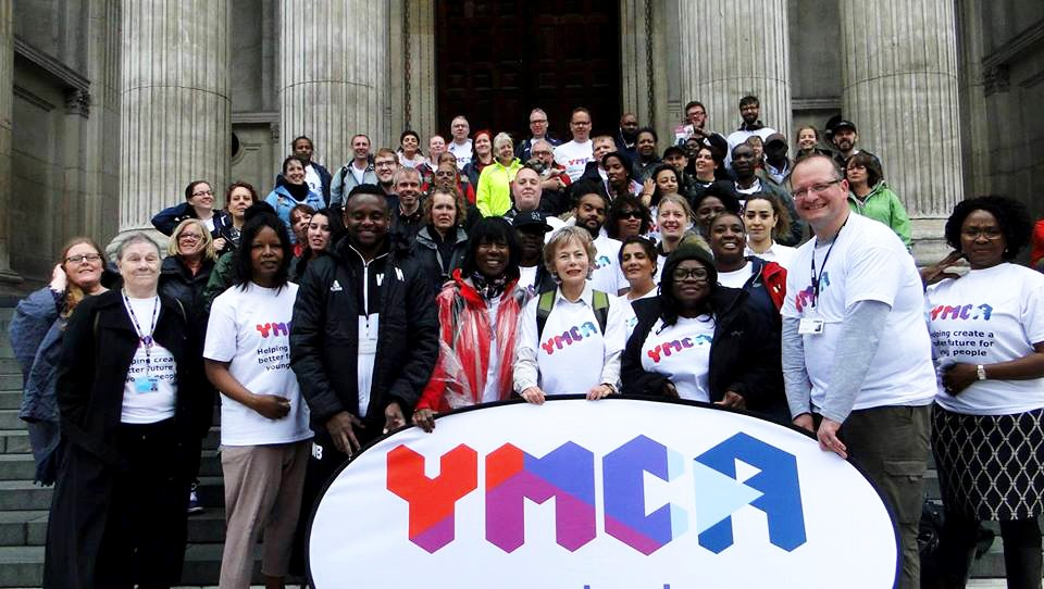 YMCA banner group