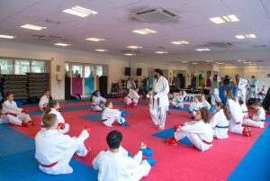 karate at hawker with sat 300x201 - Karate success at YMCA Hawker