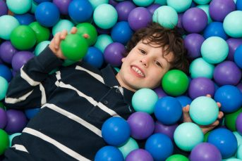 Boy Ball Pit Smile Horizontal 343x229 - Children's Classes & Courses at YMCA Hawker