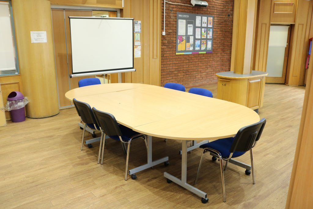 YMCA Surbiton room hire, big room