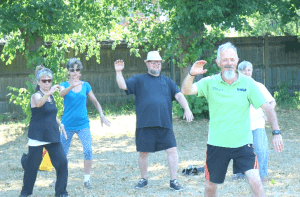 Tai chi in group 300x197 - Relax and focus with Tai Chi at YMCA Hawker