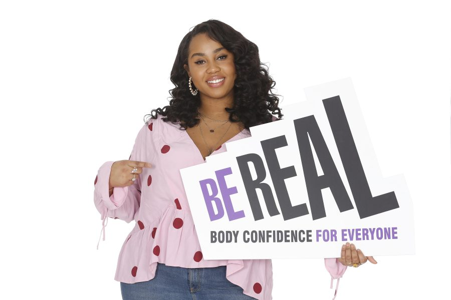 be real women holding sign