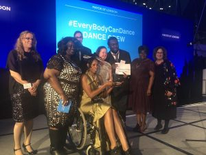 Our Inclusive Lives Team won an award for their EveryBodyCanDance fitness video