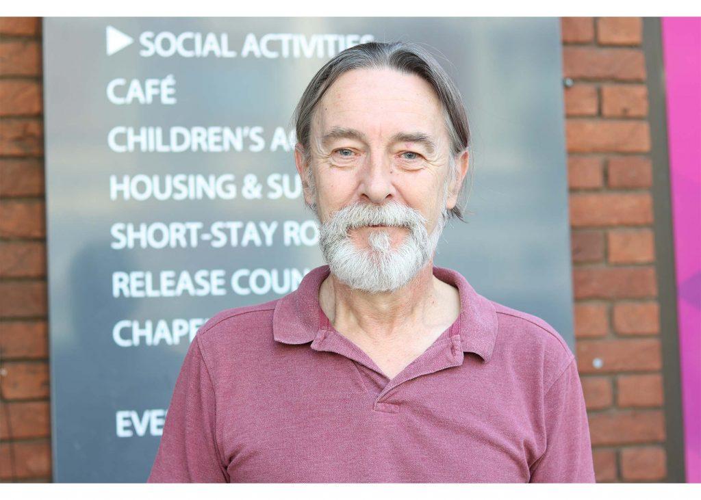 Stephen Bray hostel resident
