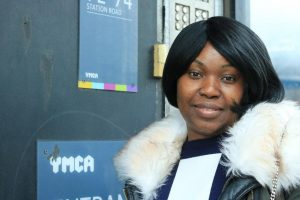 Betina, 24, attended a Get On Track programme as she set about building her confidence in finding employment.