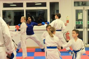 general fighting karate compressed 300x200 - Karate at YMCA Hawker in Kingston