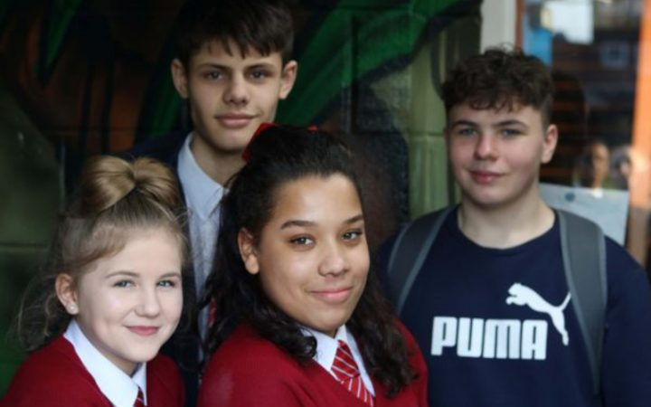 Young people at Hampton Youth project
