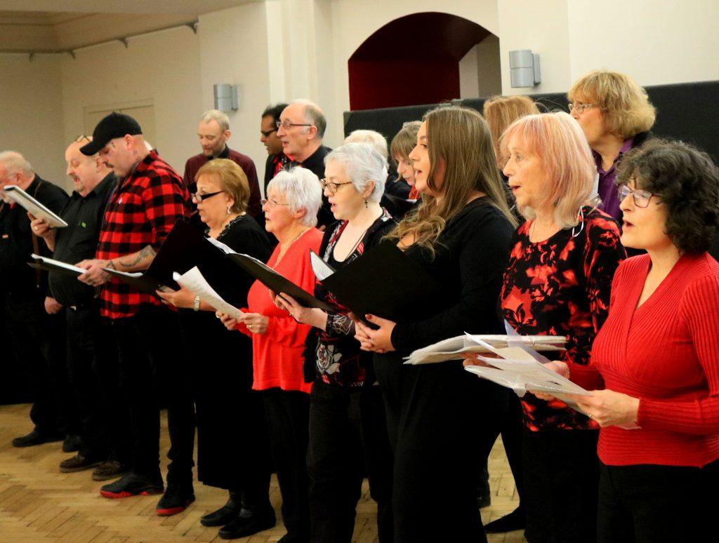 community choir 5March 1024x774 - The YMCA Community Choir