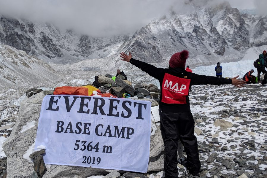 People on Mount Everest