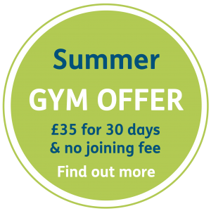 Summer gym promo 300x300 - Gym & exercise classes at YMCA Hawker