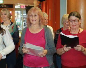 mature women singing choir 300x237 - The YMCA Community Choir