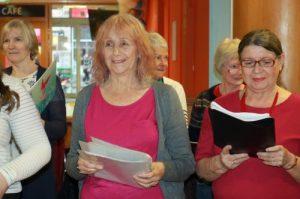 mature women singing choir e1571232339137 300x199 - The YMCA Community Choir