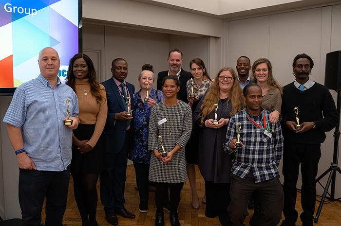 Staff awards YMCA SPG