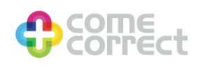 come correct project logo