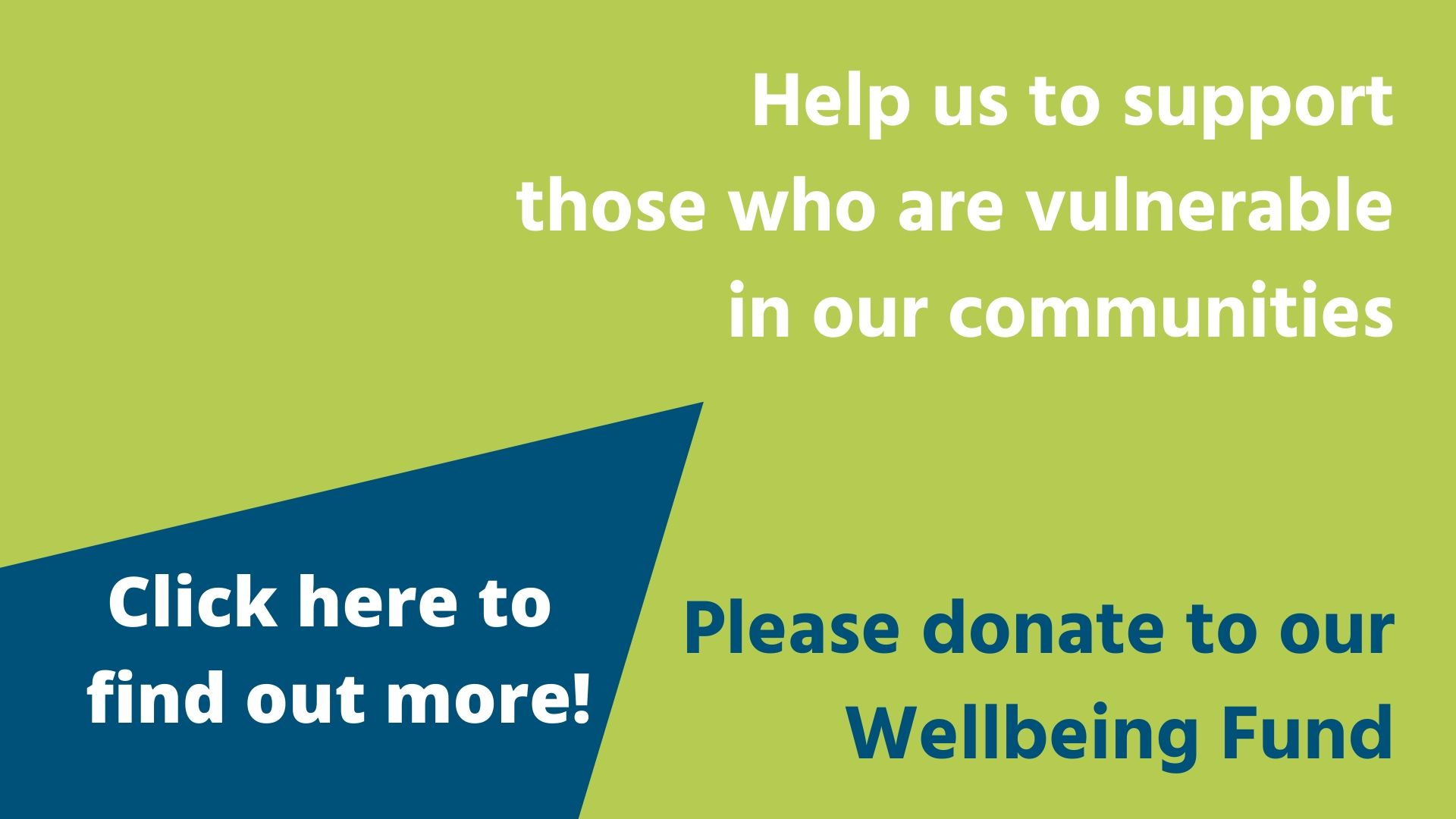 donation button  - Our gyms