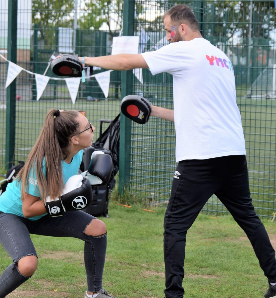 Community day boxing demo 947x1024 - YMCA Youth Programmes - Ealing -  Hillingdon - Harrow
