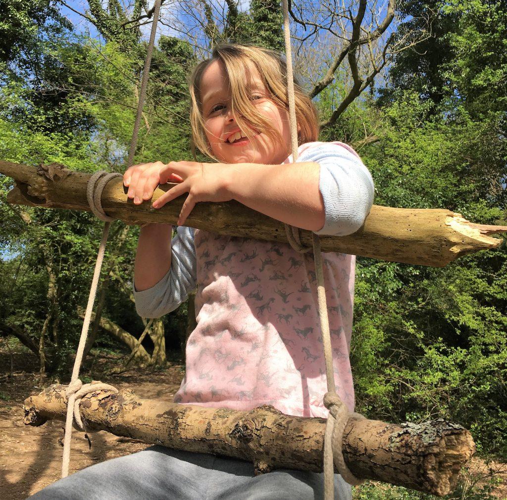 Wild Play Days Girl on a tree swing 1024x1011 - Wild Play Days