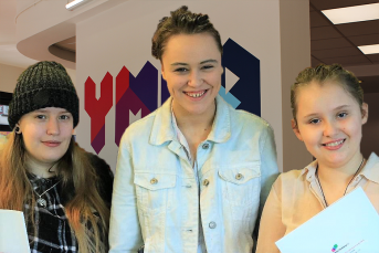 Young women at careers day Aug 343x229 - YMCA South Ealing