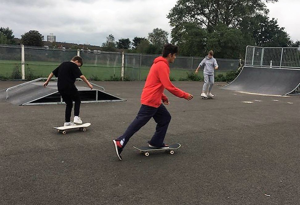 skate park - YMCA Dickerage Sports and Community Centre