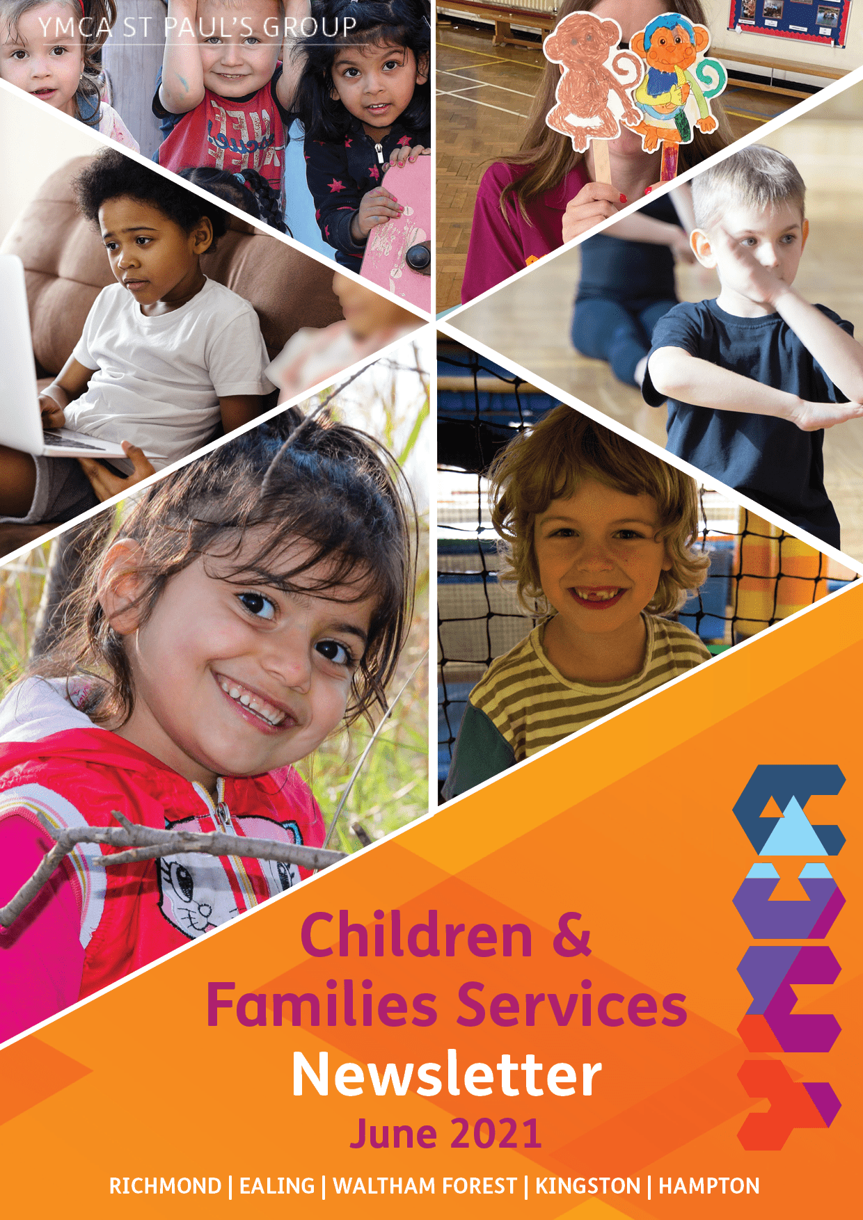 Children and Families Newsletter June 2021 - Children, Youth and Family Work
