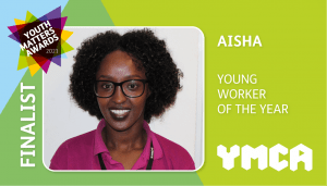 ymca youth matters finalist worker rectangle Aisha 1 300x171 - Finalists Announced For Youth Matters Awards 2021