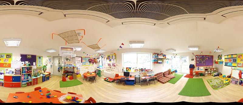 360 Nursery room