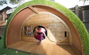Children in hobbit house