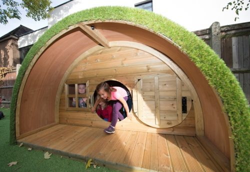 Children in hobbit house