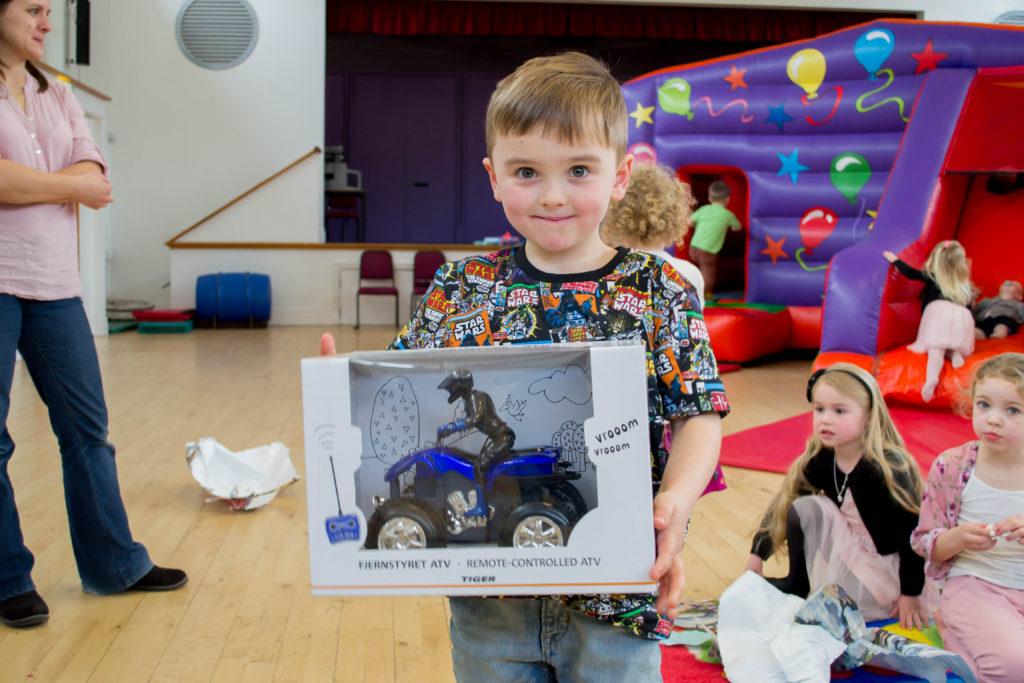 children's party bouncy castle