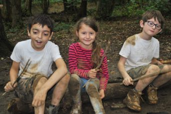 Forest School Summer Playscheme 4 343x229 - Children's Classes & Courses at YMCA South Ealing