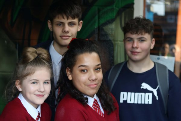 Young people at YMCA Hampton Youth Project