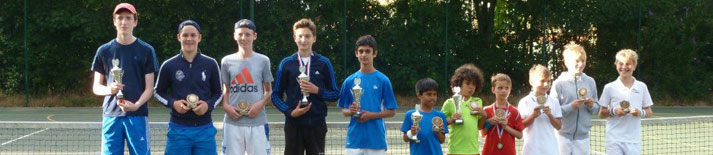 YMCA Hawker Junior Tennis Summer Tournament 2015