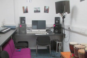 Recording studio correct1 300x200 1 - YMCA John Innes Youth Club