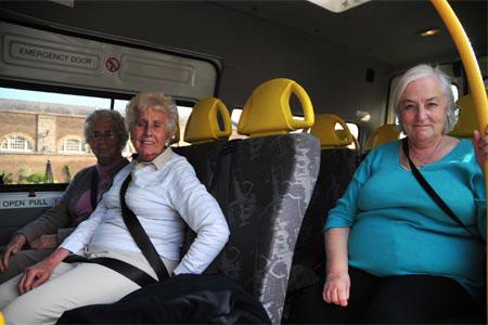 Senior trip in bus1 1 - Social Activities