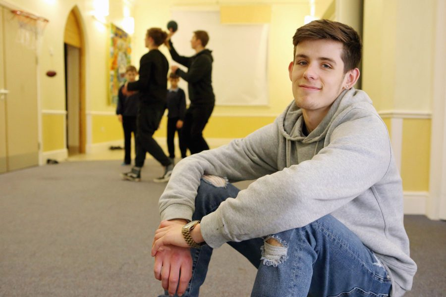 Young man happy at YMCA St Paul's Group