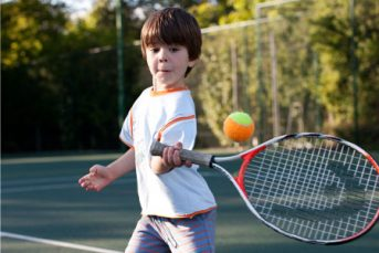 Tennis 2 343x229 - Children's Classes & Courses at YMCA Hawker
