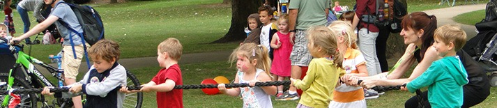 Web banner for benchmark1 - Olympic Fun Day