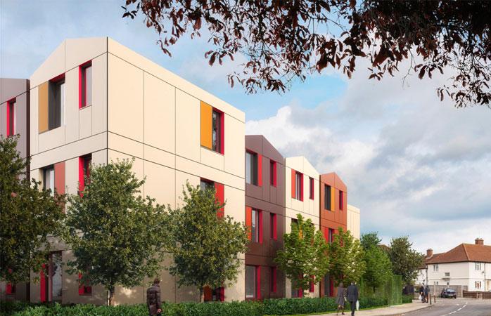 Y Cube Mitcham Illustration - Y:Cube Housing