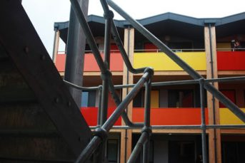 YCube stairs 343x229 - Accommodation