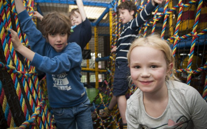 Children in soft play